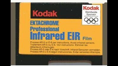 Kodak Colour Infrared Film x 2 36 exp