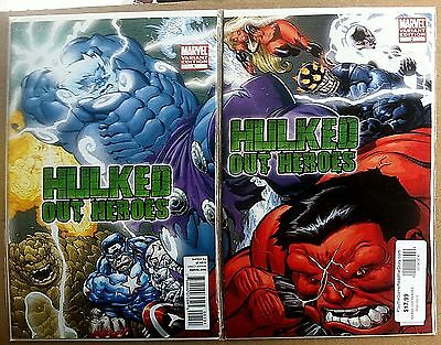Hulked Out Heroes #1 & #2  Ed McGuinness Variant Edition 1st Print Hulk