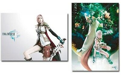 Final Fantasy XIII - Official 2 Poster Set Lightning & Snow by Square Enix