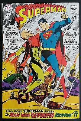 SUPERMAN #205 (1939 1st SERIES) *NEAL ADAMS COVER* VF+