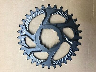 SRAM X-Sync Cold Forged Aluminum Chainring 32T Direct Mount 6mm Offset