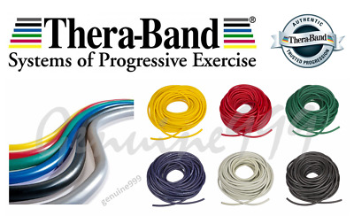 TheraBand Tubing Excercise Resistance Yoga Physio Band Genuine Thera-band (1.5m)