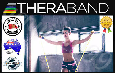 Thera-band Exercise Resistance Physio Band Genuine Theraband (1.5m) FREE POSTAGE