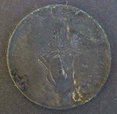 Philippines 1936 1 Peso Murphy & Quezon Silver Salvage Coin