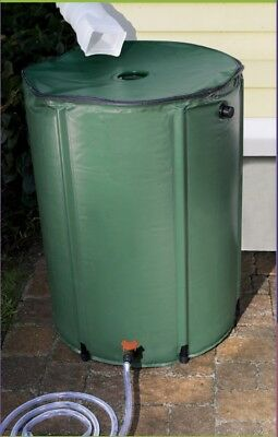 250L Garden Use rain Water barrels PVC water butt Portable flexible Rain Tank