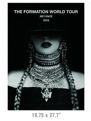 BEYONCE The Formation World Tour 2016 Large HQ Poster Print Canada USA Europe
