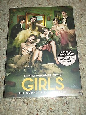Girls: The Complete Third Season (DVD, 2015, 2-Disc Set) 3rd 3 NEW Sealed
