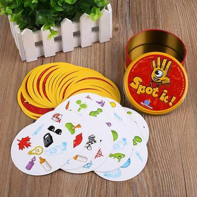 For Spot It Dobble Board Funny Card Game For Children Family Gathering Party A