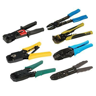 Electrical Crimping And Stripping Tool Hardened Pressed Steel Pliers Set