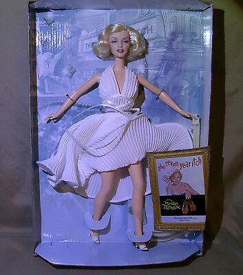 NEW Marilyn Monroe SEVEN YEAR ITCH White Dress Special Collector Edition Barbie