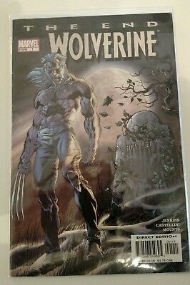 Wolverine The End #1 January 2004 Marvel