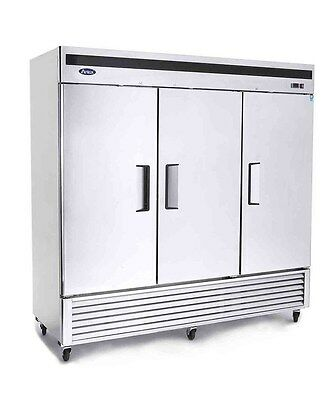 Atosa MBF8508 Bottom Mount (3)Three Door Refrigerator