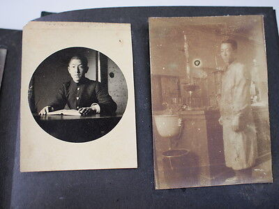 Japanese Antique Old Album Family Photos Pictures