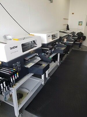 Brother 361 direct to garment printer for sale. white heads have been removed.