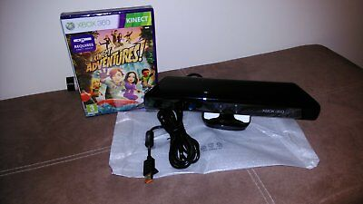 XBox 360 Kinect Sensor Bundle *with Kinect Adventures GAME *