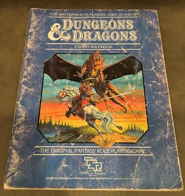 Dungeons And Dragons Expert Set Rulebook