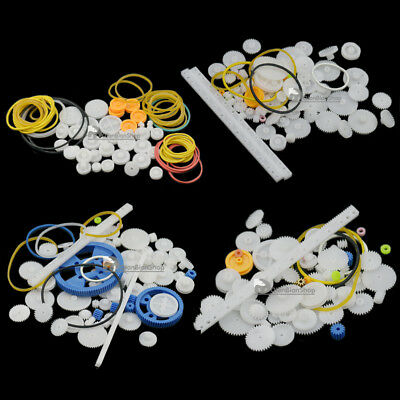 Plastic Gear Model Rack Pulley Belt Worm Rod Teeth For DIY Toy Hobby Car Robot G