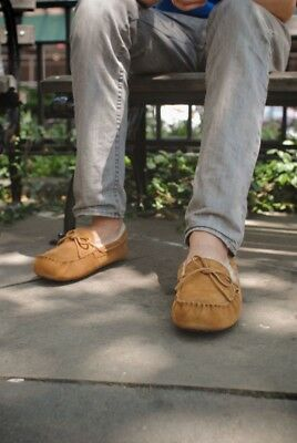 cdbe2d5d9a2 UGG OLSEN MENS Size 12 Chestnut Moccasin Style Slippers New