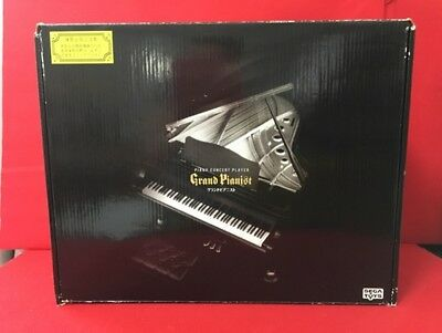 USED Genuine SEGA TOYS Black Grand Pianist Automatic perfor 1/6 scale With box