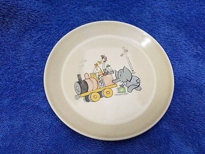 Vintage Collectable Johnson Of Australia Baby Plate