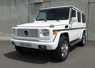 2002 Mercedes-Benz G-Class  2002 Mercedes G500 (Single Family Owned / Exceptionally Clean)