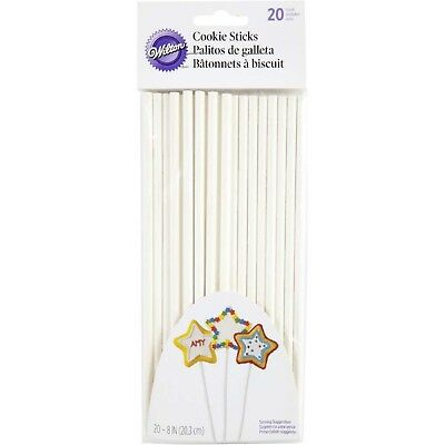 Wilton Cookie Sticks 20cm (8 inch) - 20 pack