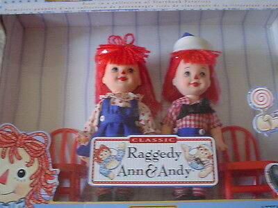 Matel Barbie Kelly Storybook Classic Raggedy Ann & Andy MIB 1999 1st in Series