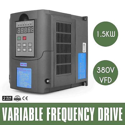 1.5kw/2HP 5A 380V AC single phase variable frequency drive inverter VSD VFD