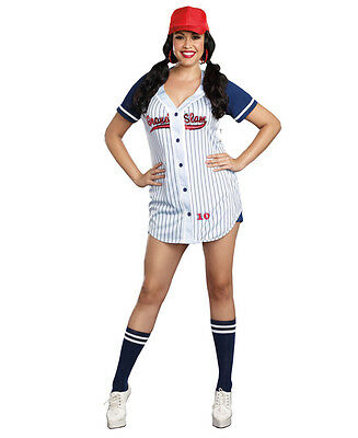 New Dreamgirl 6469X Plus Size Sexy Baseball Costume