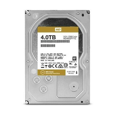 WD Disque dur interne Gold - 4To - 128Mo - 3.5""