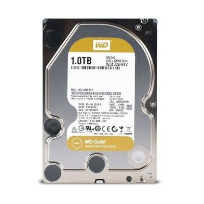 "WD Disque dur interne Gold - 1To - 128Mo - 3.5""  WD1005FBYZ"