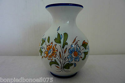 Faience Nevers Vase Montagnon