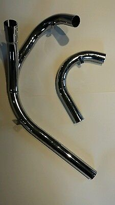 motorcycle exhaust pipe suit BSA A65LC