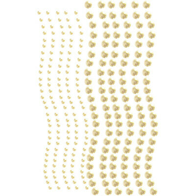Want2scrap Self Adhesive Round Bling 3Mm & 6Mm 250/Pkg White Pearls W2S250-16