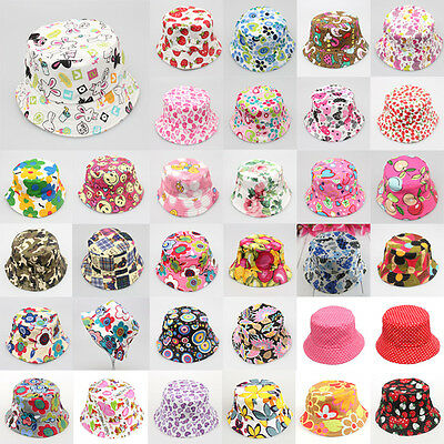 Chosen Baby Toddler Kids Bucket Hat Summer Cap Beach Sun Outdoor Bonnet Beanie