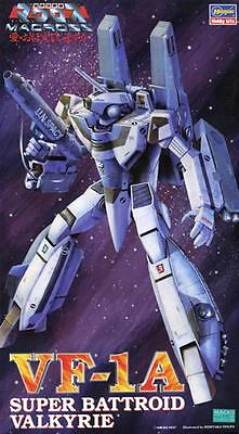 Hasegawa MACROSS 1/72 VF-1A SUPER BATTROID VALKYRIE model kit Gift Japan