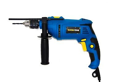 WORKZONE 850w 230v Corded Hammer Drill Includes 5 Drill Bits