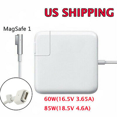 """85W/60W Wall Charger Power Supply Cord Adapter For Apple MacBook Pro 13.3"""" 15.4"""""""