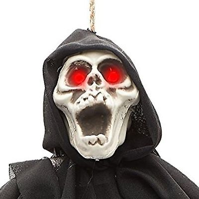 Huge animated halloween prop decor cad picclick ca for Animated flying reaper decoration