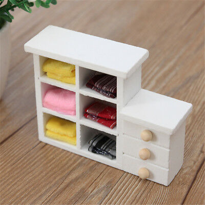 Wooden Mini Small Toys Cupboard Shooting Props Dolls House Furniture Accessories