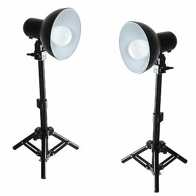 Set de Studio Kit 2x PS01 LED 300W Soporte de Luz, Reflector Lámpara LED