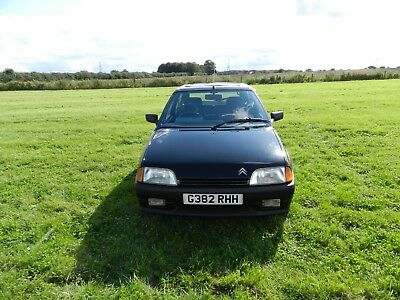 Citroen AX GT Black Very Rare Hot Hatch Lots of new parts very tidy drives well