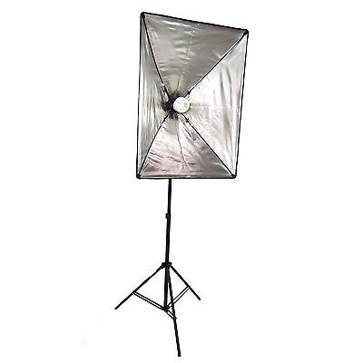 Kit SOFTBOX PLEGABLE SB1007 40x60cm + Antorcha Flash WOF4001 + Trípode W803