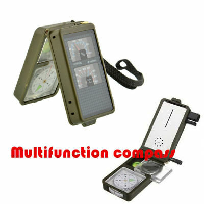 Outdoor New Multifunction  10 in 1 Military Camping Hiking Compass Tool