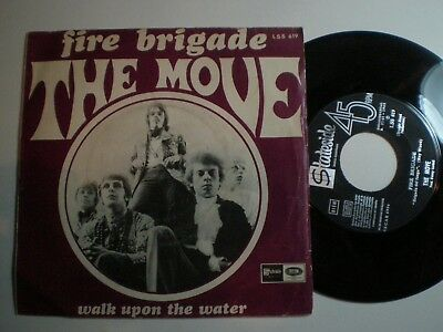 THE MOVE Walk Upon The Water SPAIN 45 1968Roy Wood ELO E.L.O. UK PSYCH ELO
