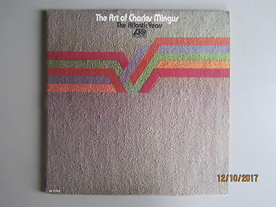 THE ART OF CHARLES MINGUS THE ATLANTIC YEARS Double Vinyl LP US Import