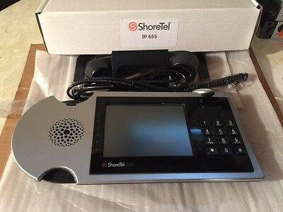 Shoretel IP655 Refurbished , High Quality w/ new patch & handset cable
