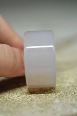 hot wholesale Chinese natural jade machining carved ring size sq4