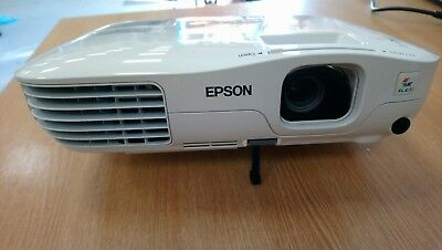 EPSON PROJECTOR EB-S8 MODLE: H309B 3440 HOURS LAMP HOURS LCD 2500 ANSI Lumens