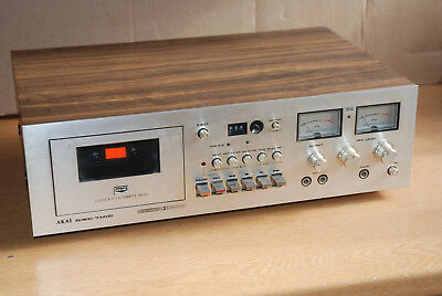 Akai GXC-710D Vintage Cassette Tape Recorder & Player